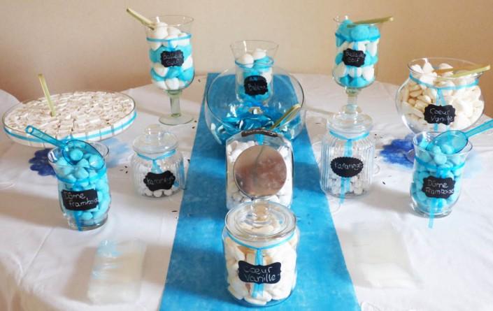 Candy bar bonbons - wedding planner normandie