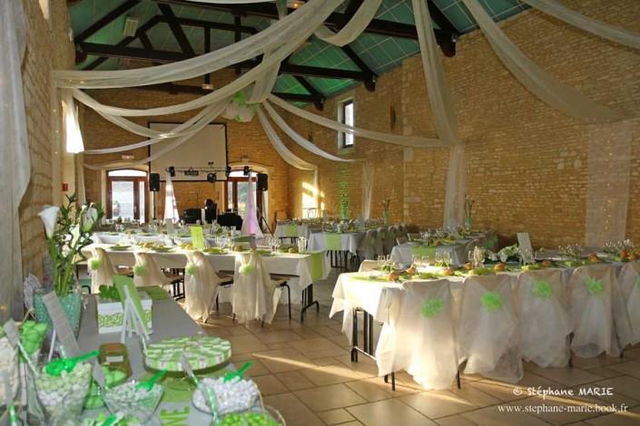 Décoration de salle - Wedding Planner Héra Normandie