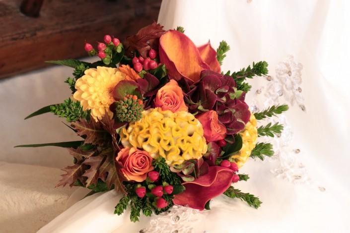 Bouquet de mariée pour mariage d'automne