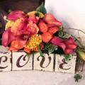Bouquet de mariée couleurs automne