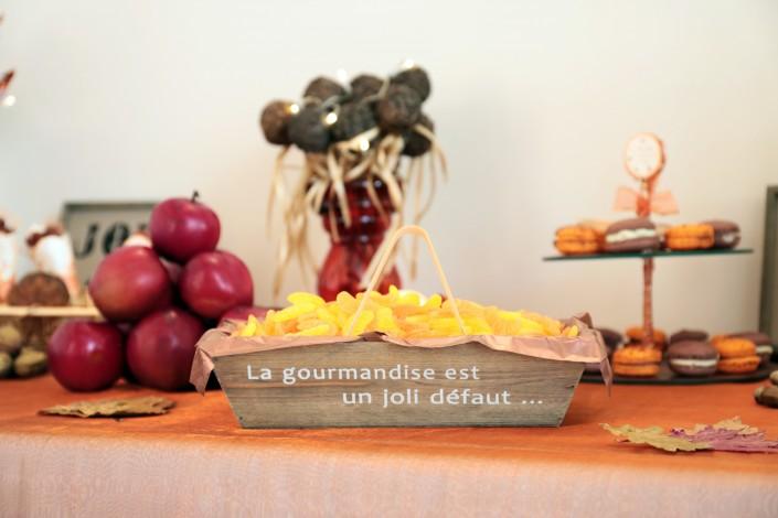La Sweet Table de mon mariage d'automne