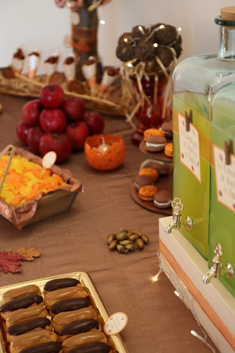 Sweet Table d'automne