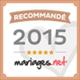 Recommandé sur mariages.net - Partenaire Héra Normandie