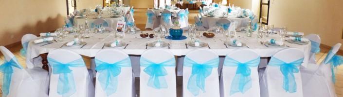 Housses de chaises décoration mariage Normandie