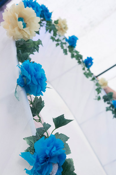 Arche de cérémonie mariage normandie
