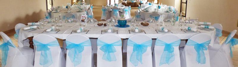 décoration mariage normand housses de chaises