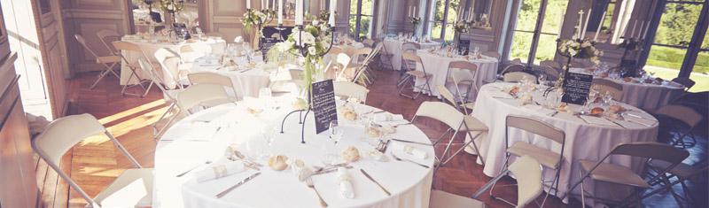 organisation décoration salle mariage normandie caen calvados orne