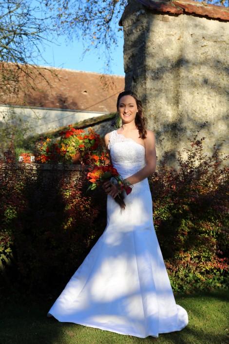 Mariage d'automne en Normandie