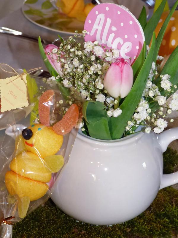 Décoration Alice au Pays des Merveilles Pâques lapin théière blog